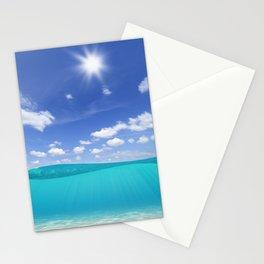 Sunny Sea Stationery Cards