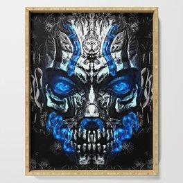 Mystic Djinn Mask Serving Tray