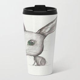 NORDIC ANIMAL - HAZEL HARE / / ORIGINAL DANISH DESIGN bykazandholly  Travel Mug