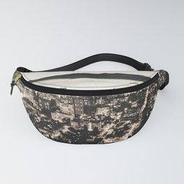 Voyeuristic 1378 Vancouver Cityscape English Bay Twilight Fanny Pack