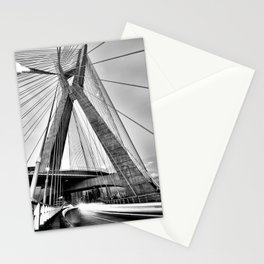 Sao Paulo ponte estaiada Stationery Cards