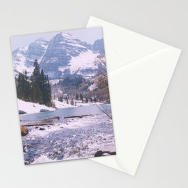 Outlet, Maroon Lake/Maroon Bells above Aspen, Colorado Stationery Cards