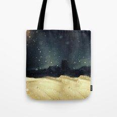 A Winter Night's Walk Tote Bag