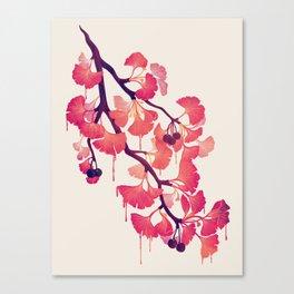O Ginkgo Canvas Print