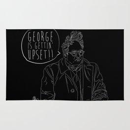 George is Gettin' Upset! Rug