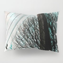 hanging by a string Pillow Sham