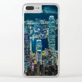 HONG KONG 07 Clear iPhone Case