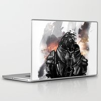 garrus Laptop & iPad Skins featuring Forgive the insubordination - Galaxy by Bandit