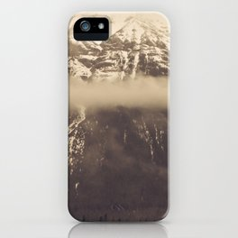 mt. lawson, kananaskis country, alberta iPhone Case