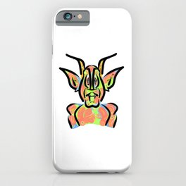 Red Demon iPhone Case