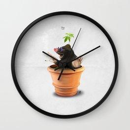 Pot Wall Clock