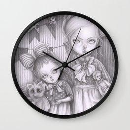 Subrina and Rosabel Wall Clock