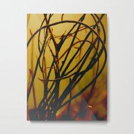 dark.tangle Metal Print