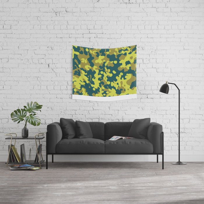 CAMO03 Wall Tapestry