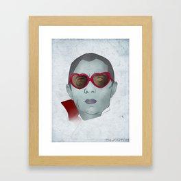 Bela Lugosi's gay. Framed Art Print
