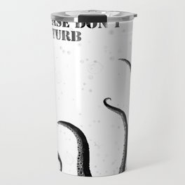 a crazy Tentacles in the shower (Scary) Travel Mug