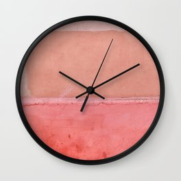 Colors of Morocco - Landscape Photography Wall Clock