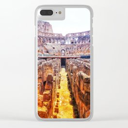 The Lions Den Clear iPhone Case