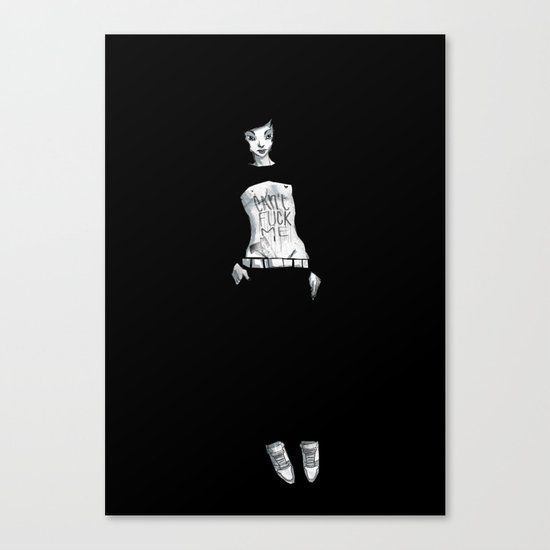 Can't Fuck Me Canvas Print