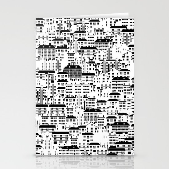 Shanghai wallpaper Stationery Cards
