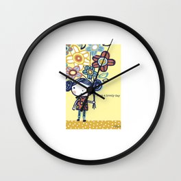 Have a Lovely Day! Wall Clock
