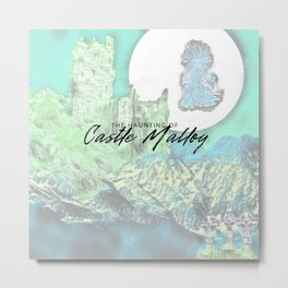 Haunting of Castle Malloy Metal Print