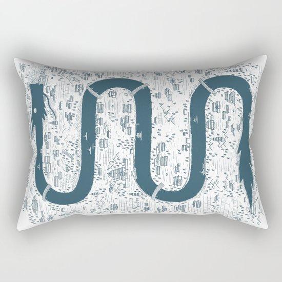 River Spirit Rectangular Pillow