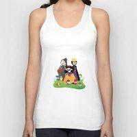 snow white Tank Tops featuring Snow white by Maria Jose Da Luz