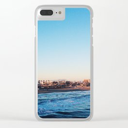 Cali Skies and Waters Clear iPhone Case
