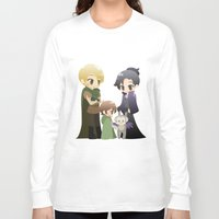 ouat Long Sleeve T-shirts featuring OUAT - Outlaw Queen by Choco-Minto