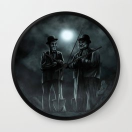 The Secret Summer of Babe Hardy Wall Clock