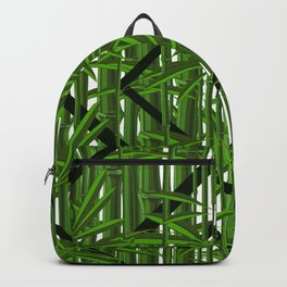 Bamboo Trees Design Pattern Backpack