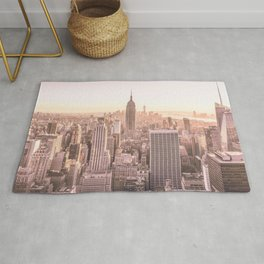 NEW YORK CITY SUNSET Rug