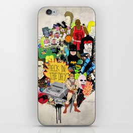 Back In The Day iPhone Skin