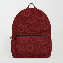 Star  Explosion Red Backpack
