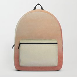 Ombre Rose Dawn Watercolor Hand-Painted Effect Backpack