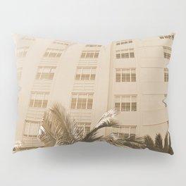 Beach hotel Pillow Sham