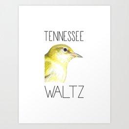Tennessee Waltz (Tennessee Warbler) Art Print