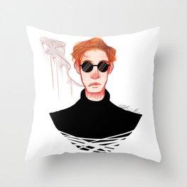Pa Pa Power Throw Pillow