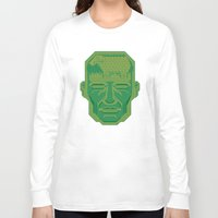 android Long Sleeve T-shirts featuring Android Dreams by Doodle Dojo