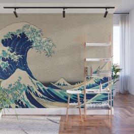 Katsushika Hokusai - Kanazawa Oki Nami Ura Wall Mural