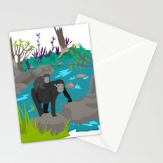 Gorillas Stationery Cards
