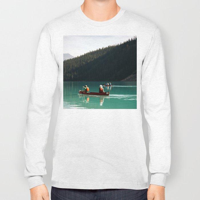 Lake Canoe Long Sleeve T-shirt