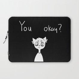 you okay ? Laptop Sleeve
