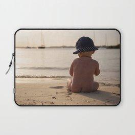 Beach baby- holiday dreams-travel photography Laptop Sleeve