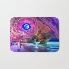 Alone with Nature by GEN Z Bath Mat