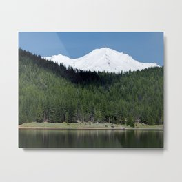 Lake Siskiyou Metal Print