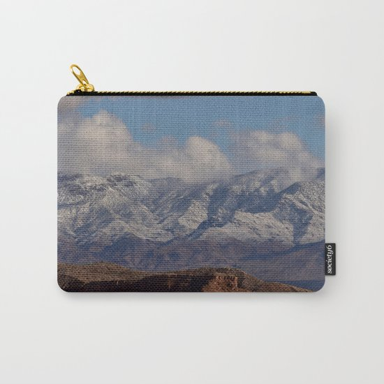 Desert Snow on Christmas - II Carry-All Pouch