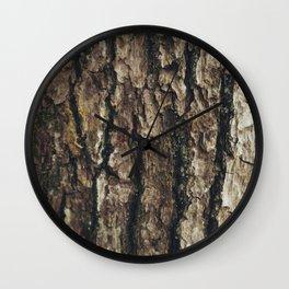 Woodgrain Wall Clock