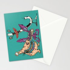 Aaahhh Real Zombies Stationery Cards